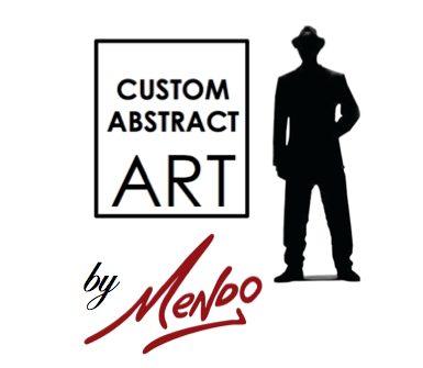 Custom abstract art by Mendo
